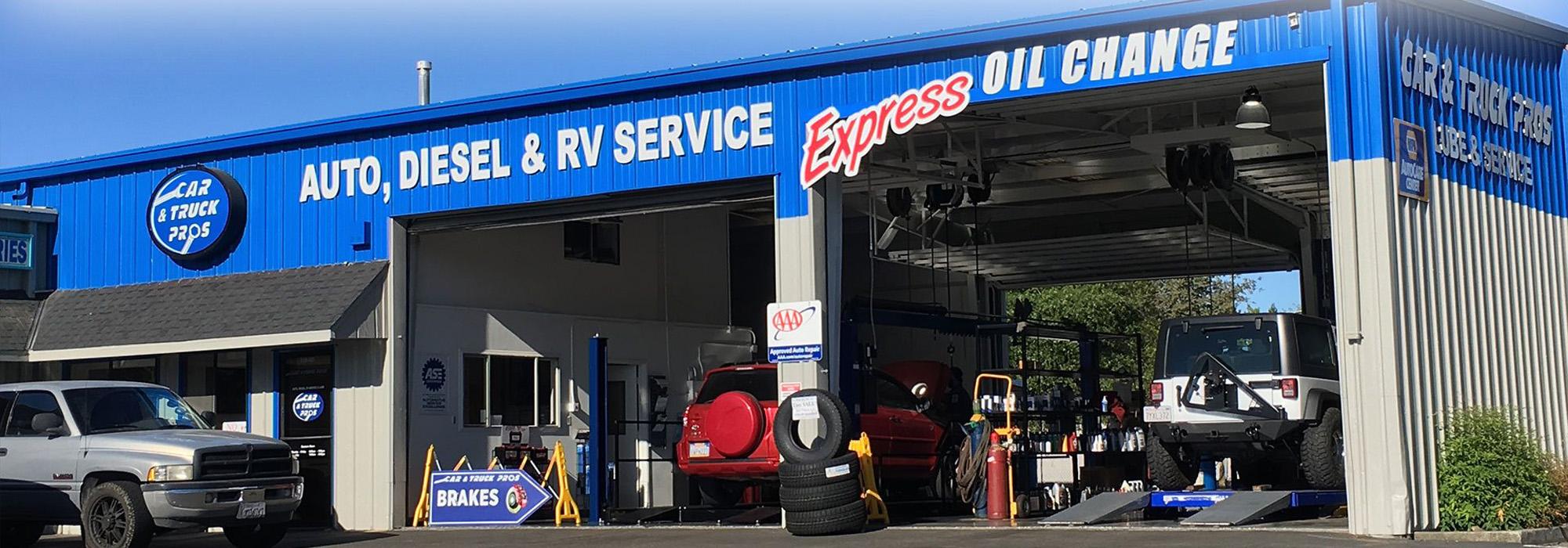 Auto, Diesel, & RV Service