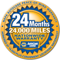Napa Nationwide Parts Warranty